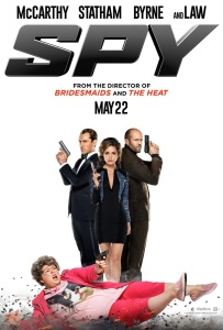 Movie poster for Summer comedy Spy starring Melissa McCarthy alcaTsar Singapore Malaysia